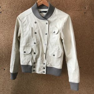 Fake Leather Bomber from Dear Creatures - Small